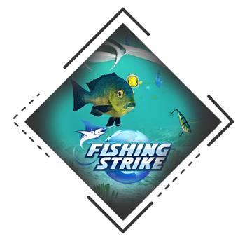 image of fishing strike