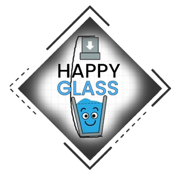 image of happy glass